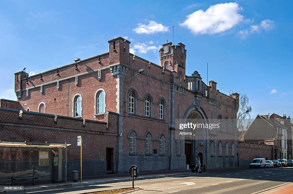 Entrance of the Prison of Ghent East Flanders Belgium