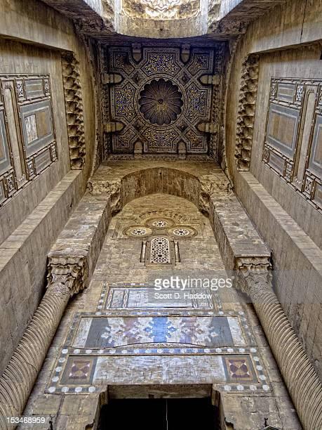Entrance to al-Rifa'i Mosque