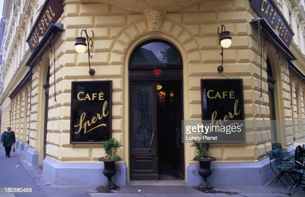 Entrance to Cafe Sperl, Mariahilf.
