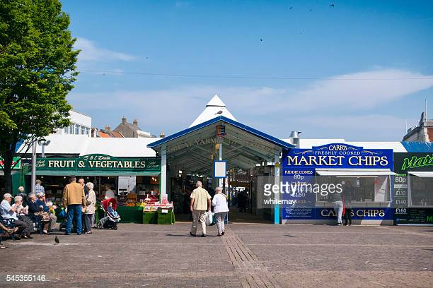 Entrance to Great Yarmouth's covered market