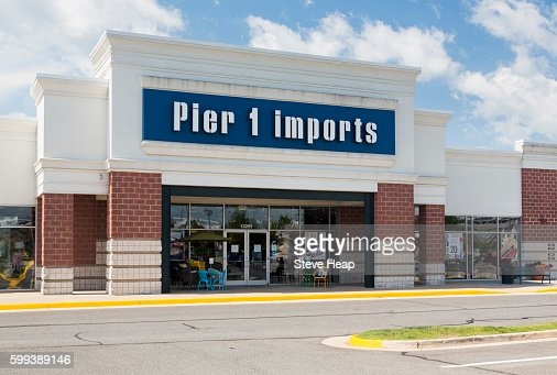 Entrance To Large Pier 1 Imports Furniture Store In Gainesville Virginia Usa Photo Getty Images