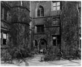 Entrance to Library at General Theological Seminary in New York City 1955