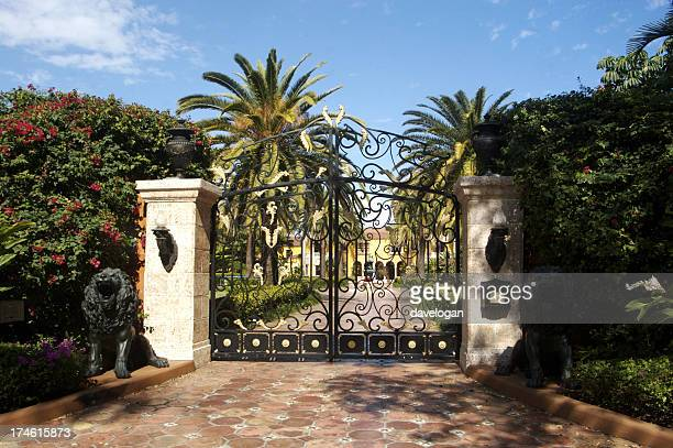 Entrance to Miami Mansion