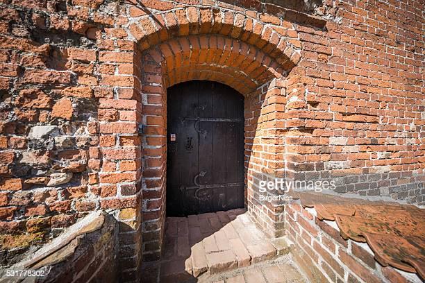 Entrance to Nyborg Castle, Nyborg, Denmark