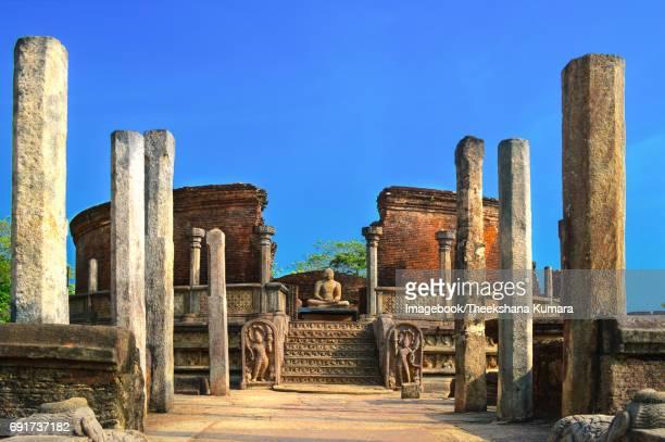 Entrance to relic house called vatadage