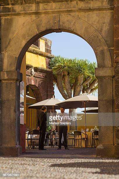 Entrance to Restaurante Do Forte