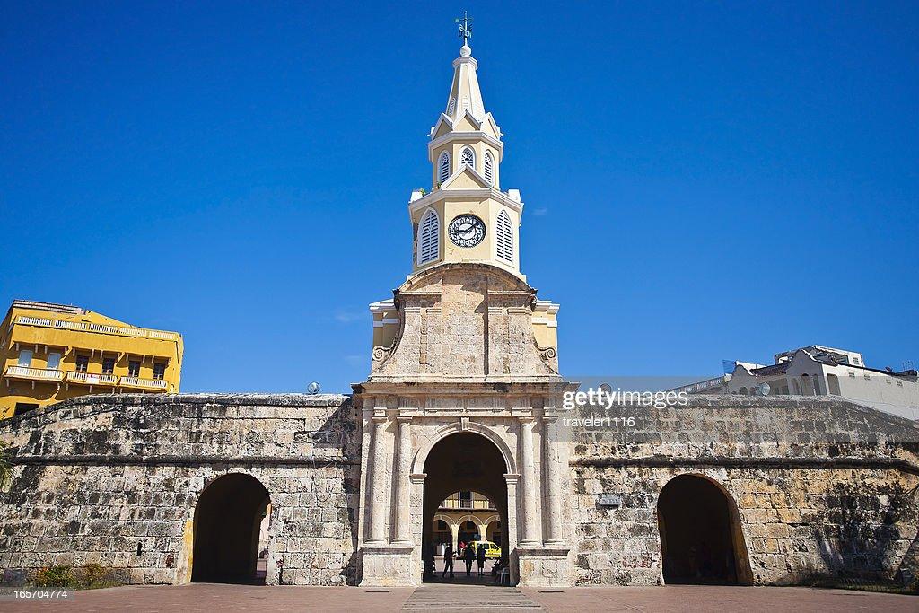 入口を抜けて旧市街のカルタへナ
