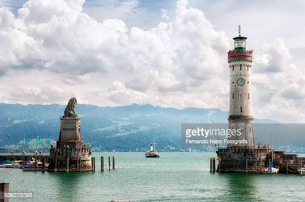 Entrance to the port of Lindau
