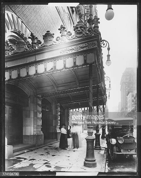 Entrance to the Schubert Theatre 223 231 West 44th Street New York New York 1917