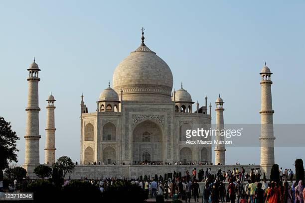 Entrance to the Taj Mahal, Agra, India