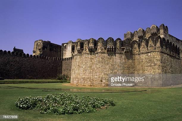 Entrance wall of Golconda Fort