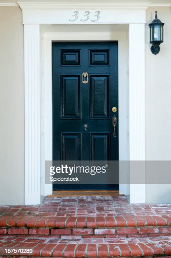 Entrance With Front Door