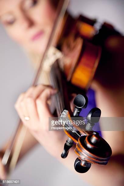 Der vom Schönheit der Musik