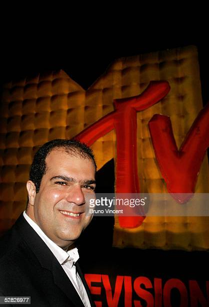 Entrepreneur and chairman of easyjet Stelios HajiIoannou attends the MTV Cannes film festival party during the 58th International Cannes Film...