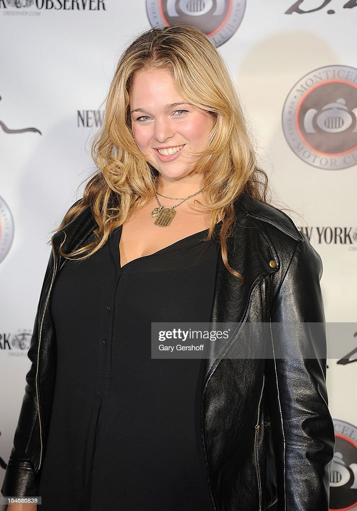 Entrepreneur and plus size model Andrea Horblitt attends the Artist Domingo Zapata VIP Art Reception at The Bowery Hotel on October 24, 2012 in New York City.