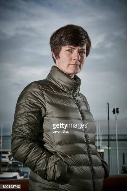 Entrepreneur and retired sailor Ellen MacArthur is photographed for Wired magazine on March 22 2017 in Cowes England