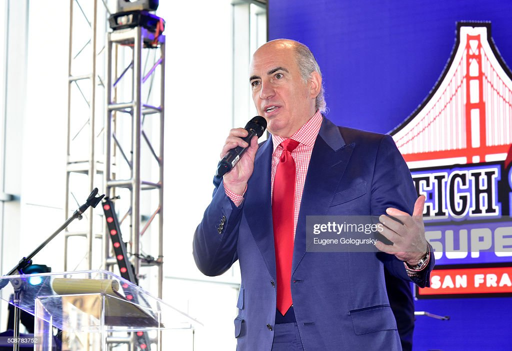 Entrepreneur Cosmo DeNicola speaks onstage during the 29th Annual Leigh Steinberg Super Bowl Party on February 6, 2016 in San Francisco, California.