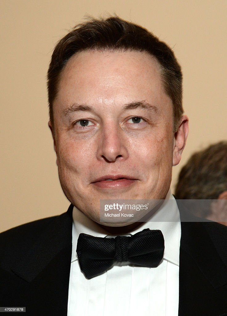 Entrepreneur Elon Musk attends LACMA's 50th Anniversary Gala sponsored by Christie's at LACMA on April 18, 2015 in Los Angeles, California.