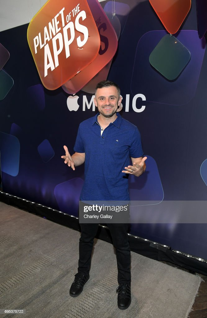 Entrepreneur Gary Vaynerchuk attends Apple Music's Planet of the Apps Party at Soho House on June 12, 2017 in West Hollywood, California.