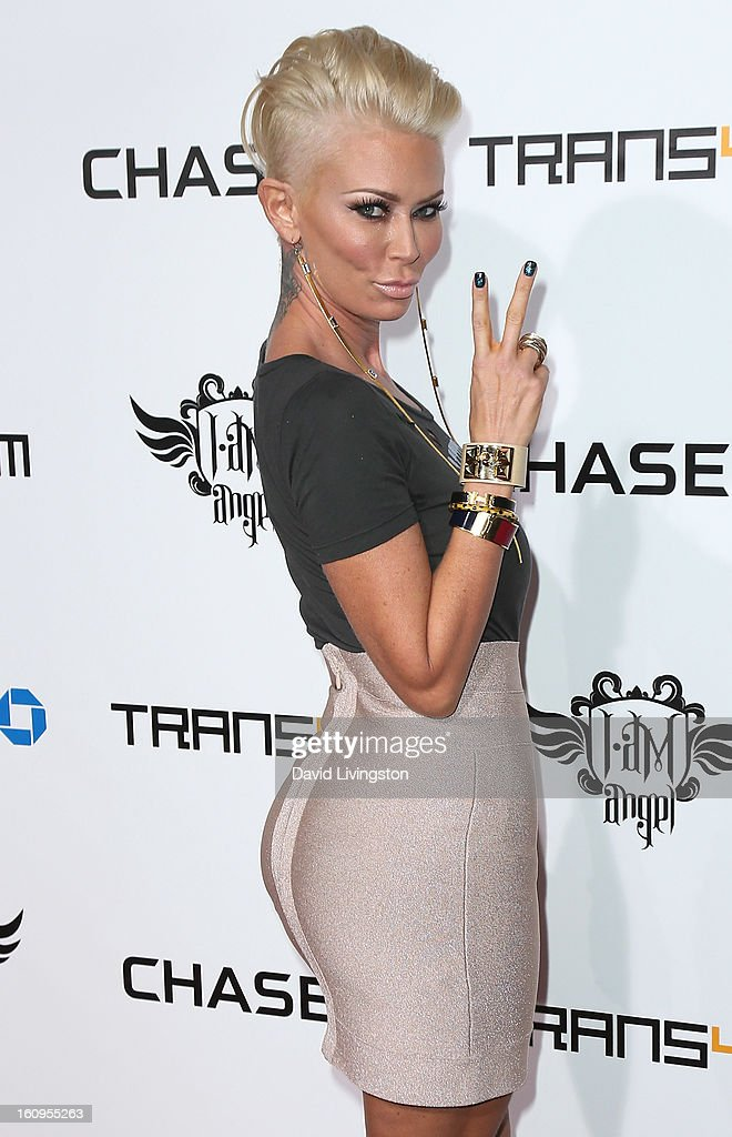 Entrepreneur <a gi-track='captionPersonalityLinkClicked' href=/galleries/search?phrase=Jenna+Jameson&family=editorial&specificpeople=206496 ng-click='$event.stopPropagation()'>Jenna Jameson</a> attends the 2nd Annual will.i.am TRANS4M Boyle Heights benefit concert at Avalon on February 7, 2013 in Hollywood, California.