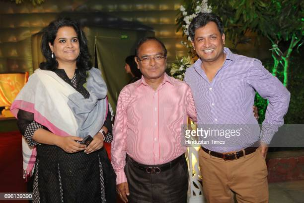 Entrepreneur Lathika Regunathan and Sushil Chaudhary during the screening of a biography based on Munda's life a tribute to tribal leader and freedom...