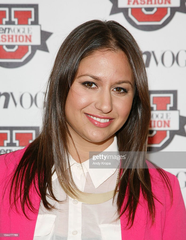 Entrepreneur Lauren Berger attends the 7th Annual Teen Vogue Fashion University at the Conde Nast building on October 20, 2012 in New York City.