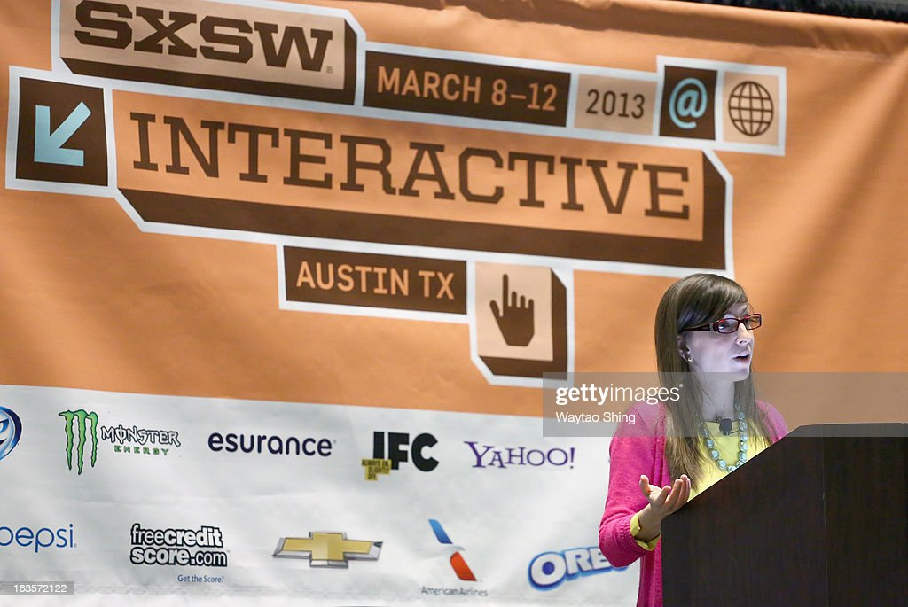 Entrepreneur Leah Busque speaks onstage Reputation As A Currency: Is The Resume Extinct? during the 2013 SXSW Music, Film + Interactive Festival at Austin Convention Center on March 12, 2013 in Austin, Texas.