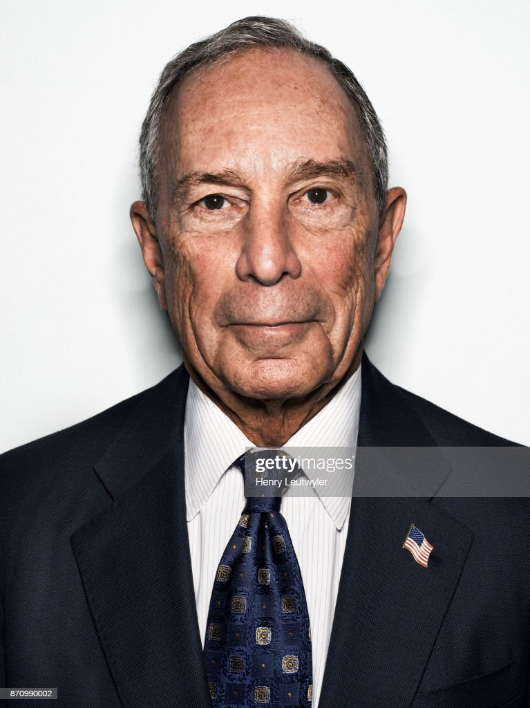 Entrepreneur Michael Bloomberg is photographed for Elle Magazine on August 7, 2017 in New York City. ON