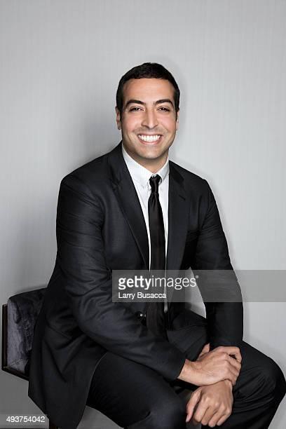 Entrepreneur Mohammed Al Turki attends The Daily Front Row's Third Annual Fashion Media Awards at the Park Hyatt New York on September 10 2015 in New...
