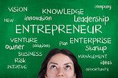 Entrepreneur, starting new business, leadership concept.