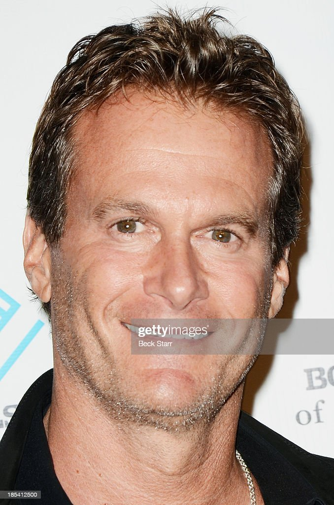 Entrepreneur <a gi-track='captionPersonalityLinkClicked' href=/galleries/search?phrase=Rande+Gerber&family=editorial&specificpeople=549565 ng-click='$event.stopPropagation()'>Rande Gerber</a> arrives at the Malibu Boys And Girls Club Fundraiser to introduce the 2013 BGCM Youth of the Year on October 19, 2013 in Malibu, California.