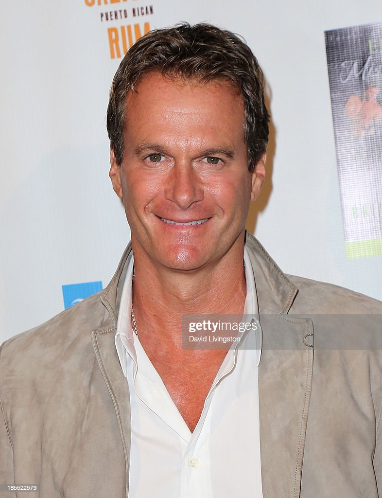Entrepreneur Rande Gerber attends the launch party for Brian Edwards' book 'Enter Miss Thang' at Cafe Habana on October 21, 2013 in Malibu, California.