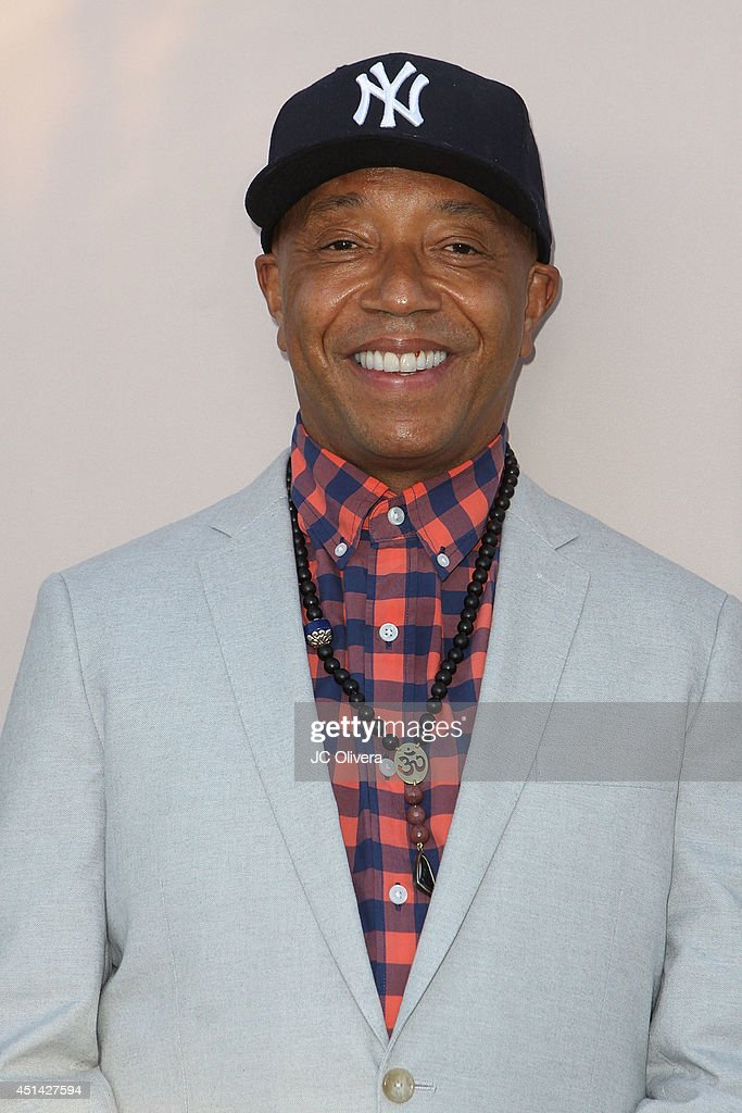entrepreneur Russell Simmons attends 'PRE' BET Awards Dinner at Milk Studios on June 28, 2014 in Hollywood, California.