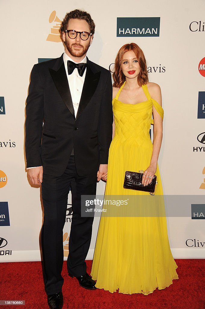 Entrepreneur Sean Parker and Alexandra Lenas arrive at Clive Davis and The Recording Academy's 2012 Pre-GRAMMY Gala and Salute to Industry Icons Honoring Richard Branson at The Beverly Hilton hotel on February 11, 2012 in Beverly Hills, California.