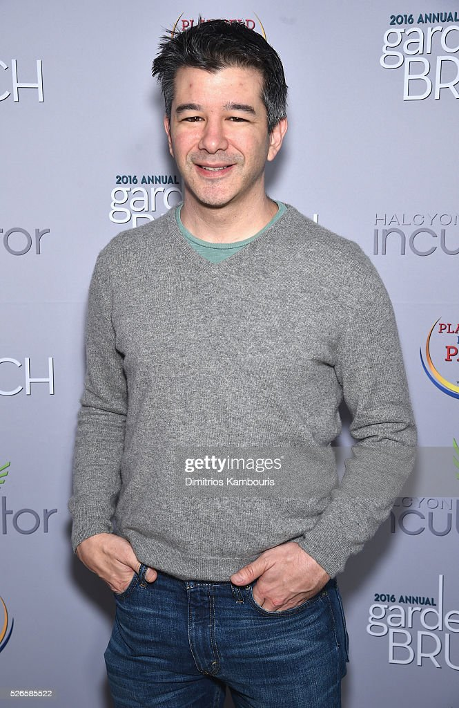 Entrepreneur <a gi-track='captionPersonalityLinkClicked' href=/galleries/search?phrase=Travis+Kalanick&family=editorial&specificpeople=7808244 ng-click='$event.stopPropagation()'>Travis Kalanick</a> attends the Garden Brunch prior to the 102nd White House Correspondents' Association Dinner at the Beall-Washington House on April 30, 2016 in Washington, DC.