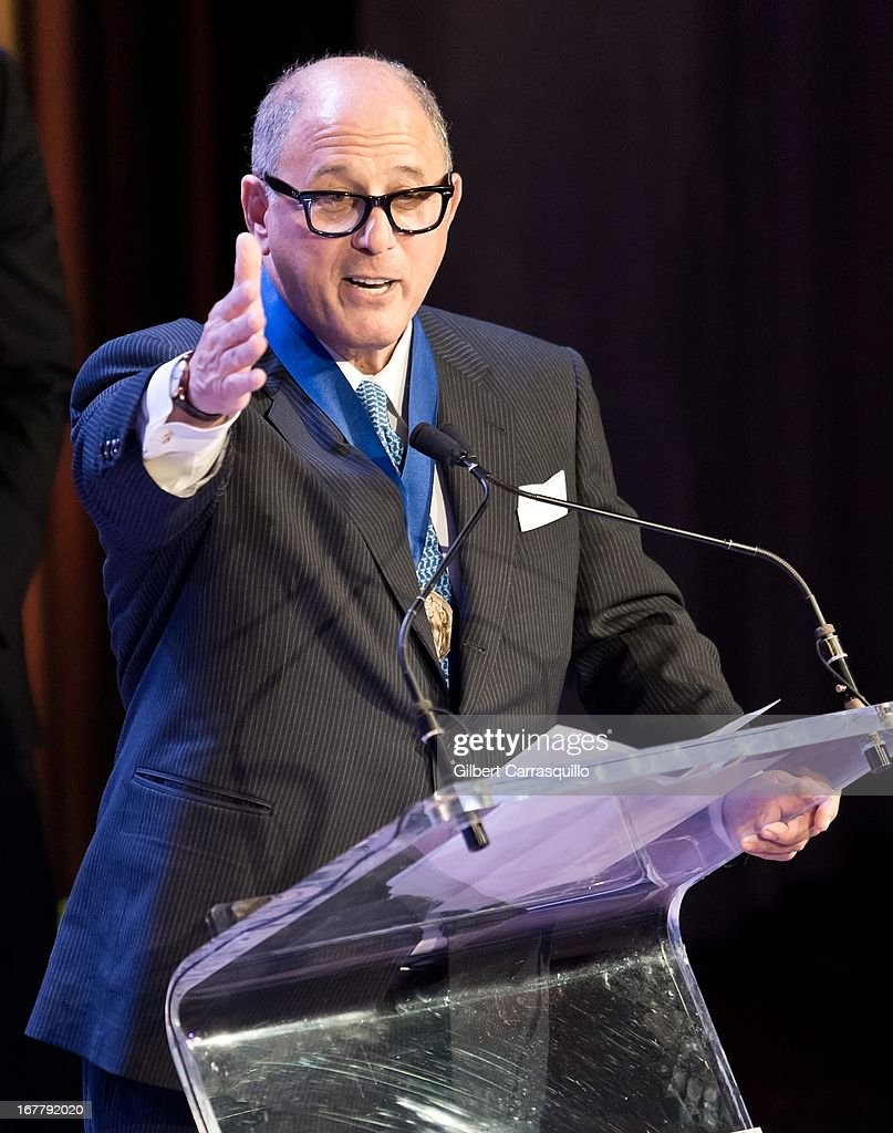 Entrepreneur/film producer Steve Kalafer attends the 2013 Actors Fund's Annual Gala Honoring Robert De Niro at The New York Marriott Marquis on April 29, 2013 in New York City.