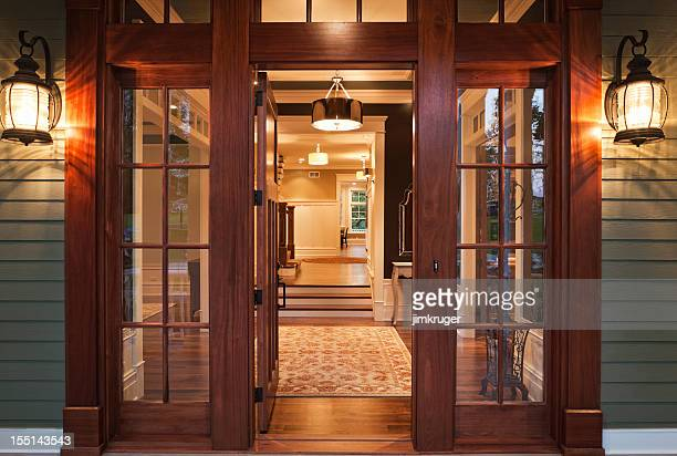 Entry into Luxurious Home