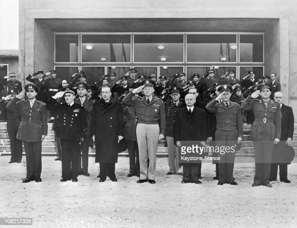 Entry Of Greece And Turkey In Nato In Marly In 1952
