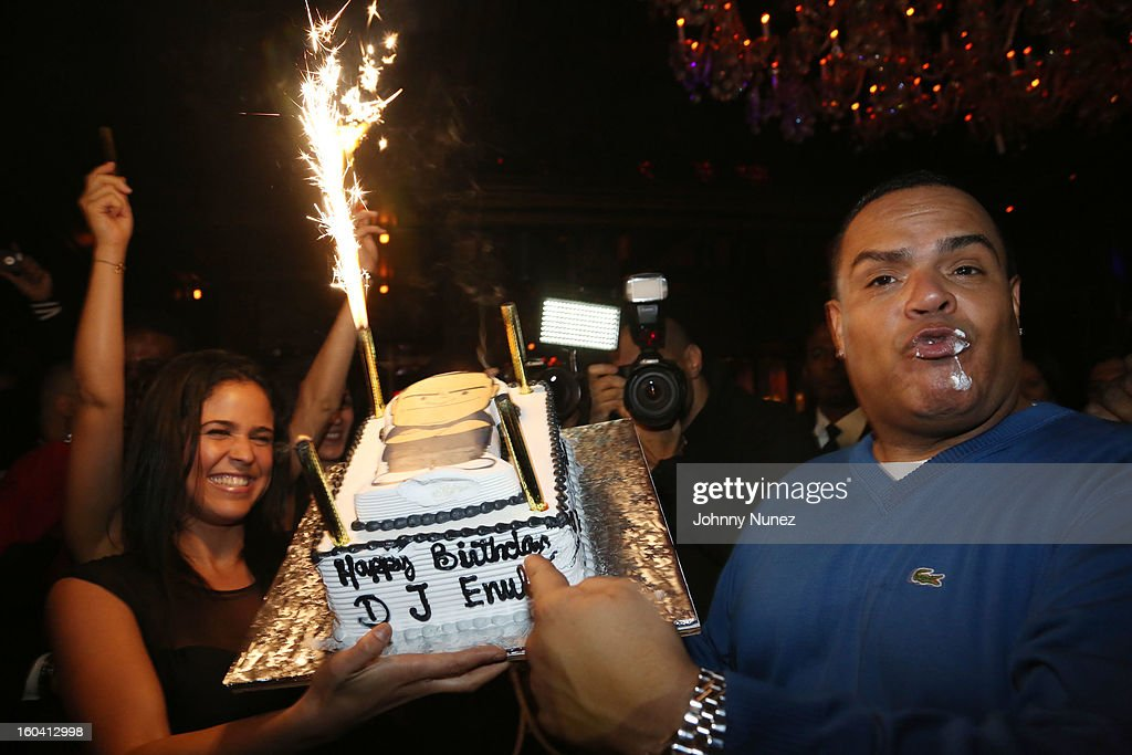 DJ Enuff attends his Birthday Celebration at The Griffin on January 30, 2013 in New York City.