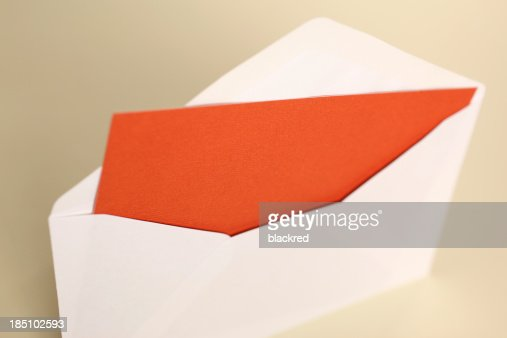 Envelop with Blank Note