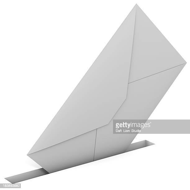 Envelope in slit