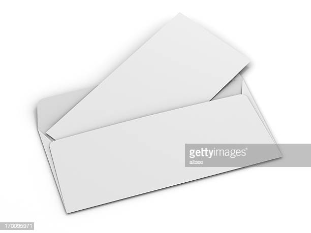 Envelope with blank card for your text