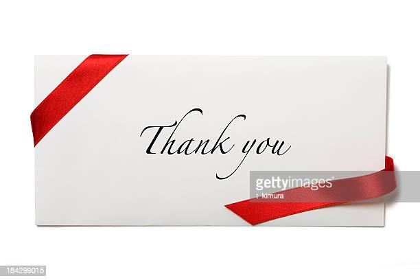 Envelope with Thank you