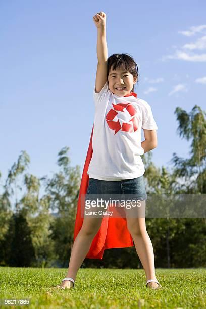 Environment protection ''super girl