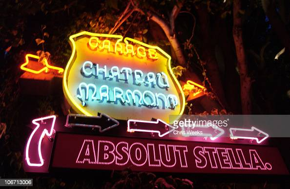 Environmental during Party Announcing the Partnership Between Fashion Designer Stella McCartney and Absolut at Chateau Marmont Hotel in West...
