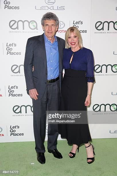 Environmental Media Assocaiton Cofounder Alan Horn and Environmental Media Assocation President Debbie Levin attend the 25th annual EMA Awards...