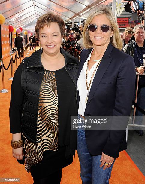 Environmental Protection Agency Administrator Lisa P Jackson and Kelly Meyer arrive at the premiere of Universal Pictures and Illumination...