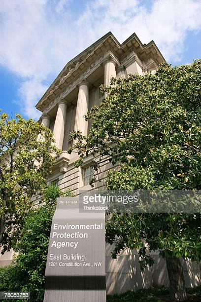Environmental Protection Agency building and sign, Washington, DC