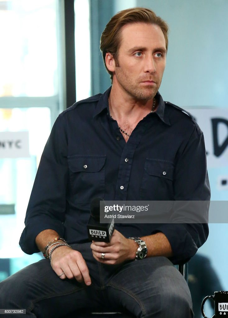 Environmentalist Philippe Cousteau discusses his Travel Channel show 'Caribbean Pirate Treasure' at Build Studio on August 17, 2017 in New York City.