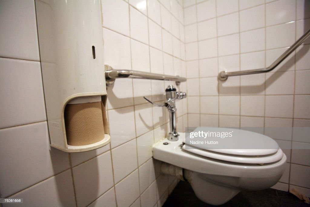Environmentally friendly toilet paper is used in the toilets before lthe Live Earth concert at the CocaCola Dome on July 7 2007 in Johannesburg South...